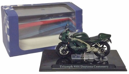 Motor schaalmodel 1:24 Triumph 955i Daytona 6,5x12cm-3