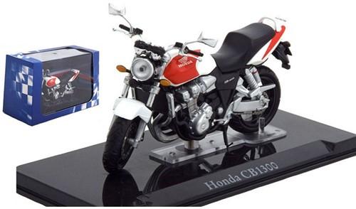 Motor schaalmodel 1:24 Honda CB1300 8x12cm