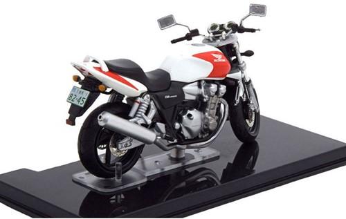Motor schaalmodel 1:24 Honda CB1300 8x12cm-2