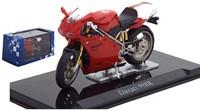 Motor schaalmodel 1:24 Ducati 998R 6,5x12cm