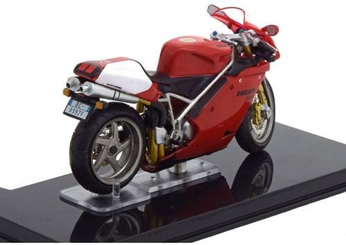 Motor schaalmodel 1:24 Ducati 998R 6,5x12cm-2