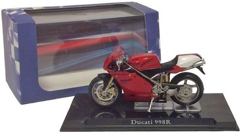 Motor schaalmodel 1:24 Ducati 998R 6,5x12cm-3