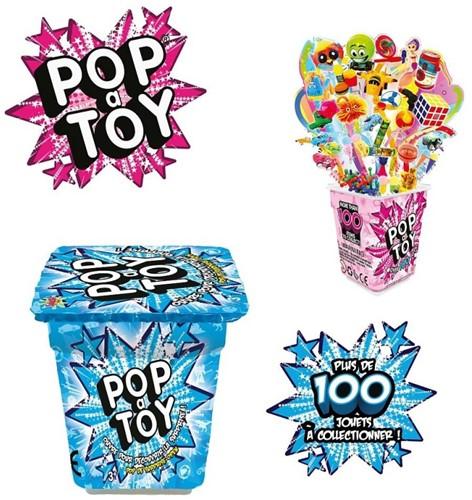 Pop A Toy Surprise assorti 6x8cm