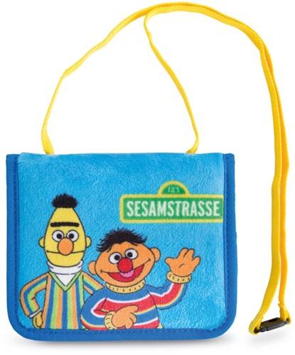 Nici Sesamstraat tasje Ernie & Bert 11x13cm
