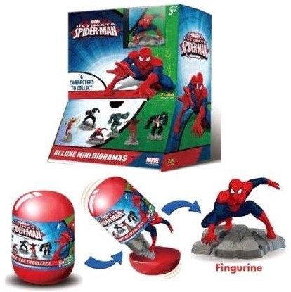 Blind Bag Marvel Spiderman verzamelfiguren in capsules assorti in display