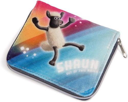 Nici Shaun het Schaap Ufo Alarm portemonnee 10x12cm