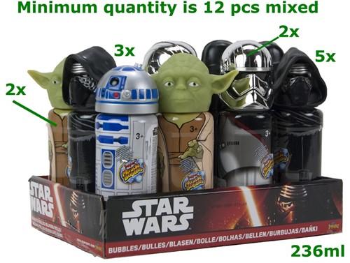 Star Wars Bellenblaas 237ml 5 assorti 18cm in display