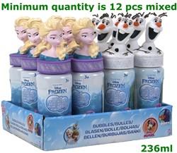 Frozen Bellenblaas 237ml 2 assorti 18cm