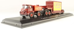 Truck schaalmodel 1:76 Carters Foden Generator