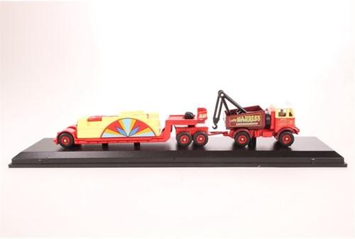 Truck schaalmodel 1:76 AEC Mammoth & Load-2