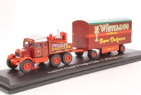 Truck schaalmodel 1:76 Scammell Pioneer  & Dodgem Trailer