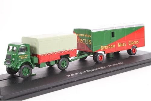 Truck schaalmodel 1:76 Bedford QL
