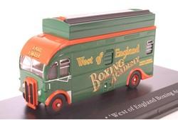 Truck schaalmodel 1:76 Greatest Show on  Earth Harrington box