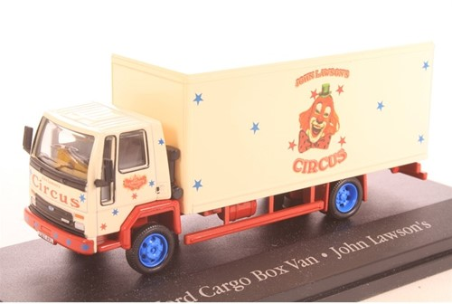 Truck schaalmodel 1:76 Ford Cargo Box Van