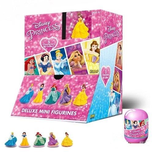 Blind Bag Disney Princess verzamelfiguren in capsules assorti in display