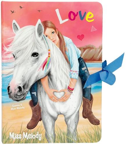 Depesche Miss Melody Notitieboek met pen