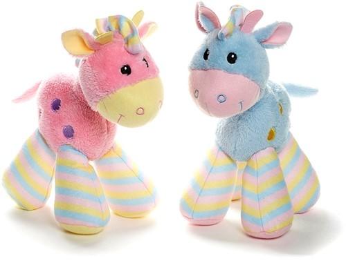 Pluche Paard Baby 2 assorti 29cm