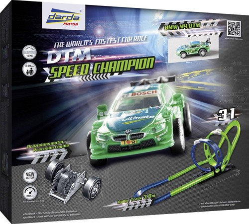 Darda Motor racebaan 3in1 DTM Speed Champion