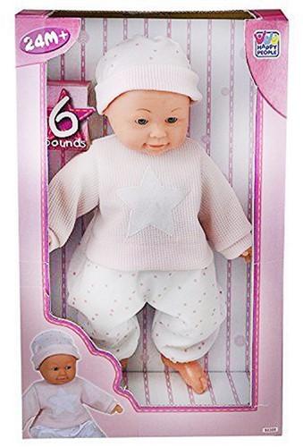 Baby pop met geluid 40cm