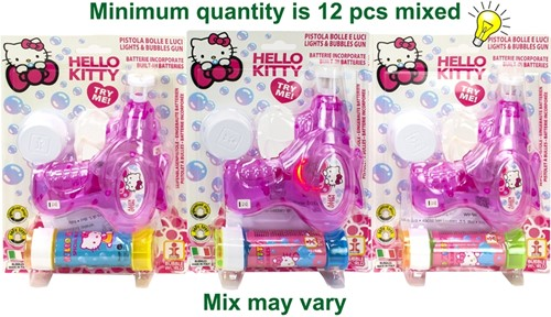 Dulcop Hello Kitty Bellenblaas pistool 60ml assorti