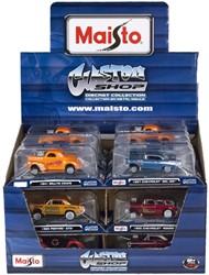 Maisto All Stars voertuigen 18 stuks in display