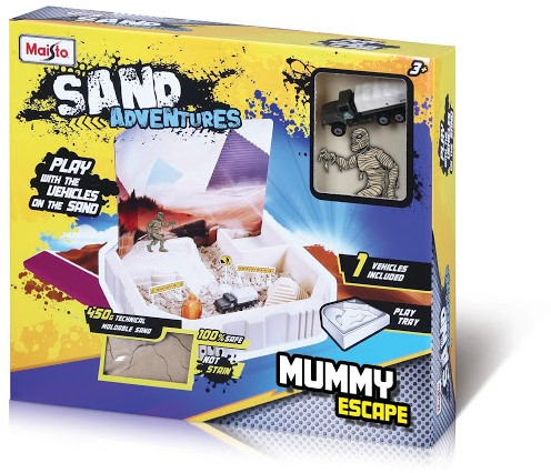 Maisto Sand Adventures Mummy Escape + 450gr Sand 30x35cm