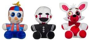 Five Nights at Freddy's Mangle + Balloon Boy + Phantom 3 assorti 30cm