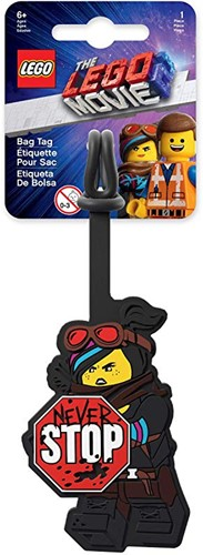 Lego The Movie 2 Kofferlabel Lucy 8,5cm
