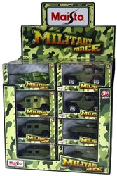 Maisto Fresh-Metal Military Force DieCast 12cm 6 assorti 24 stuks in display