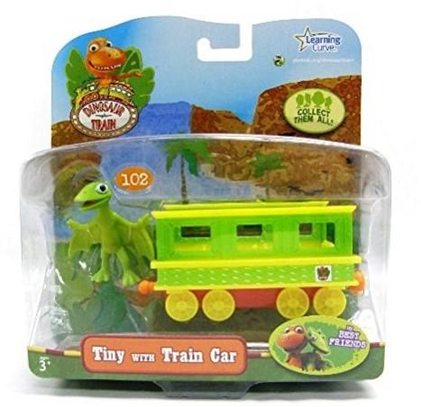 Dinosaur Tiny + trein wagon 17x19cm