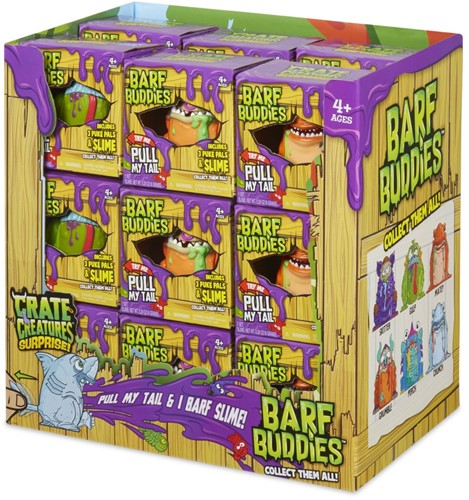 Crate Creatures Surprise Barf Buddies
