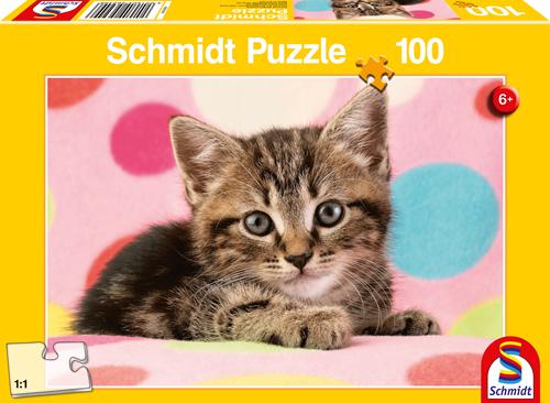 Schmidt Puzzle 100pcs Kitten 19x27cm