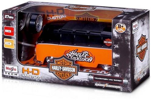 Maisto Harley Davidson RC VW T1 Bus 13x27cm