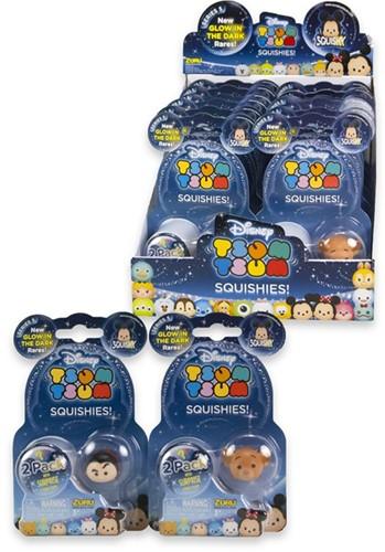 Disney Tsum Tsum Squishies 2-pack assorti in display