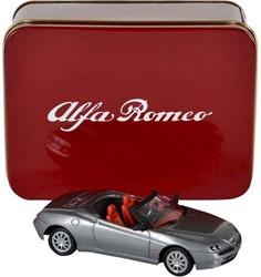 Die-Cast Alfa Romeo Spider 1:43 13x6,5cm