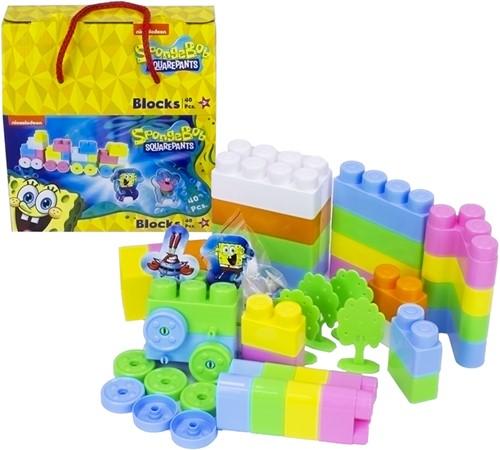 Spongebob Squarepants Blocks 40pcs 20x20cm