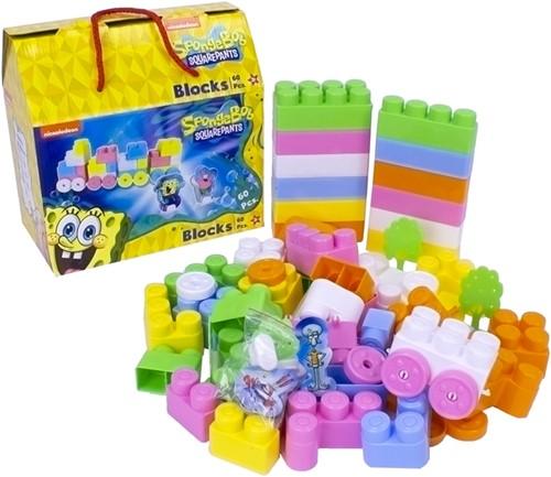 Spongebob Squarepants Blocks 60pcs 24x24cm