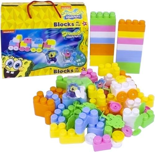 Spongebob Squarepants Blocks 80pcs 27x30cm