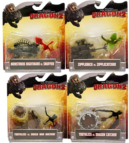 How to train your dragon 2 battle pack 4 assorti