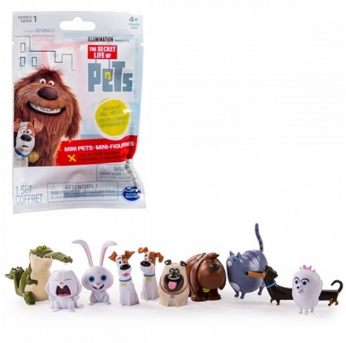 Secret Life of Pets Figurines assorti 3cm