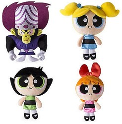 Powerpuff Girls Pluche 20cm 4 assorti in display Mix B