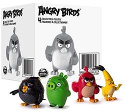 Angry Birds Verzamelfiguren 4 stuks asso