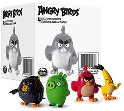 Angry Birds Verzamelfiguren 4 stuks assorti in box €0,45 ps
