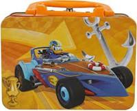 Disney Mickey Roadster Puzzel in metalen koffer 10x15cm-2