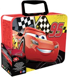 Disney Cars Puzzel in metalen koffer 10x15cm