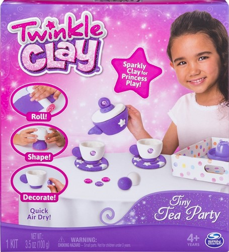 Twinkle Clay Theeservies set