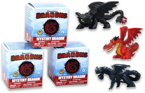 Blind Bag Dragons verzamelfiguren assorti