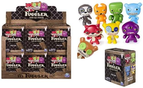 Spin Master Fuggler verzamelfiguren grappig lelijk monster assorti in display (12) 7,5cm