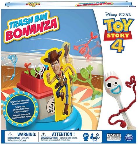 Spin Master Disney Toy Story 4 Partyspel Trash bin Bonanza