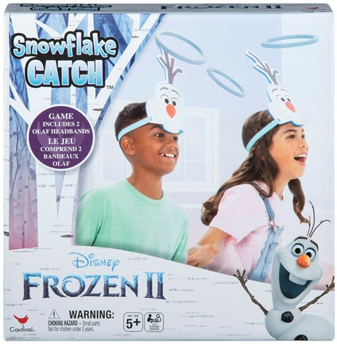 Disney Frozen 2 Snowflake Catch Ring Toss Game